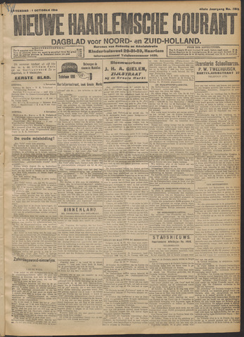 Nieuwe Haarlemsche Courant 1914-10-31