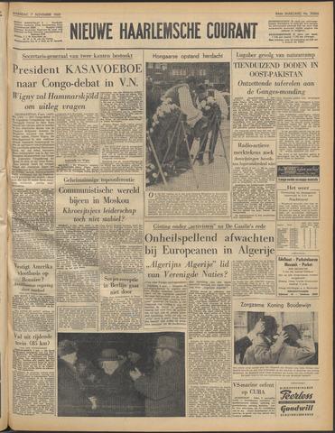 Nieuwe Haarlemsche Courant 1960-11-07