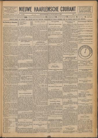 Nieuwe Haarlemsche Courant 1929-08-22