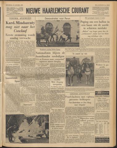Nieuwe Haarlemsche Courant 1958-10-23