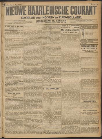 Nieuwe Haarlemsche Courant 1916-04-13