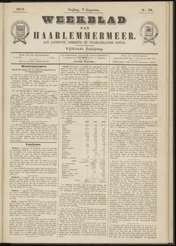 Weekblad van Haarlemmermeer 1874-08-07