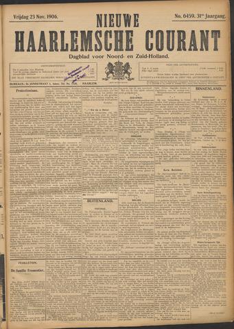 Nieuwe Haarlemsche Courant 1906-11-23