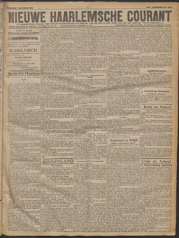 Nieuwe Haarlemsche Courant 1919-10-07