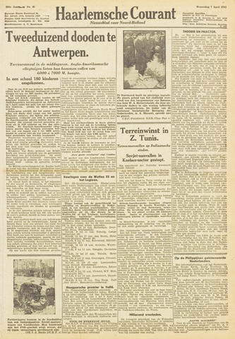 Haarlemsche Courant 1943-04-07
