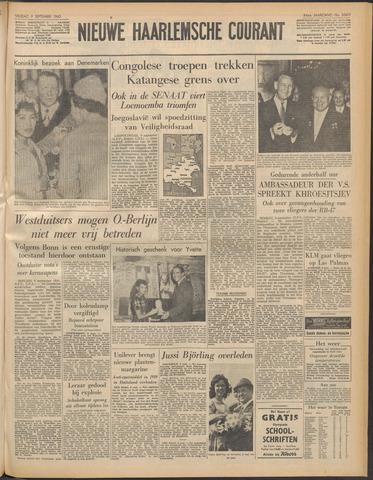 Nieuwe Haarlemsche Courant 1960-09-09