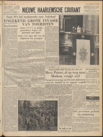 Nieuwe Haarlemsche Courant 1954-04-20