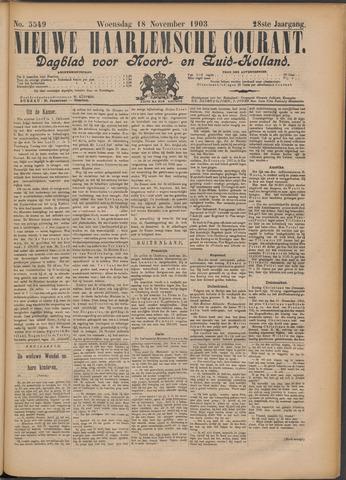 Nieuwe Haarlemsche Courant 1903-11-18