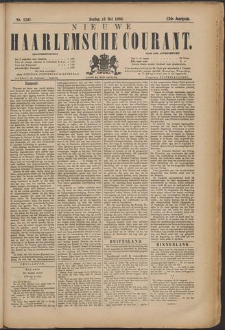 Nieuwe Haarlemsche Courant 1888-05-13