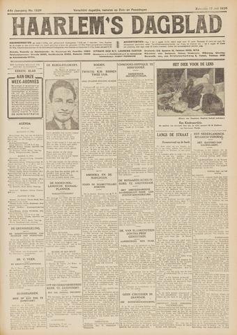 Haarlem's Dagblad 1926-07-17