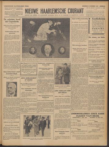 Nieuwe Haarlemsche Courant 1937-11-25