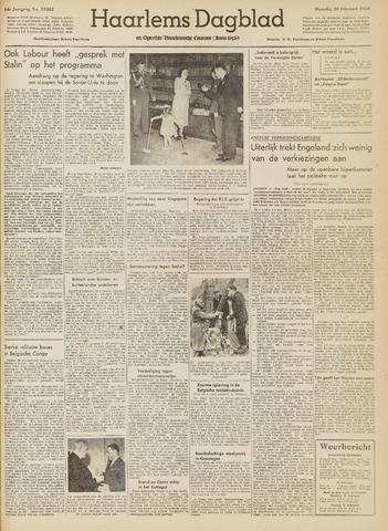 Haarlem's Dagblad 1950-02-20