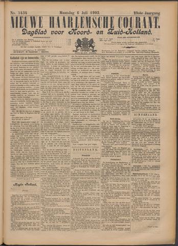 Nieuwe Haarlemsche Courant 1903-07-06