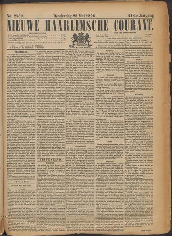 Nieuwe Haarlemsche Courant 1896-05-28