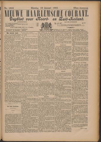 Nieuwe Haarlemsche Courant 1905-01-10
