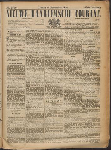 Nieuwe Haarlemsche Courant 1895-11-24
