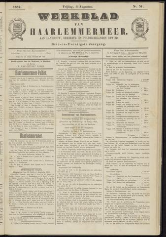 Weekblad van Haarlemmermeer 1882-08-04