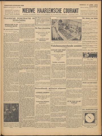 Nieuwe Haarlemsche Courant 1934-04-10