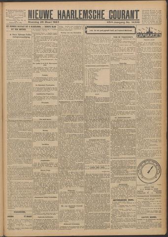 Nieuwe Haarlemsche Courant 1923-03-26