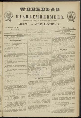 Weekblad van Haarlemmermeer 1885-10-10