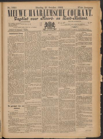 Nieuwe Haarlemsche Courant 1902-10-21