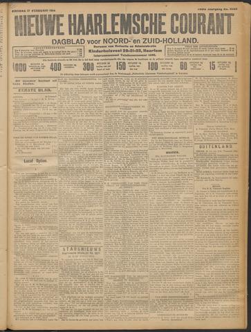 Nieuwe Haarlemsche Courant 1914-02-17
