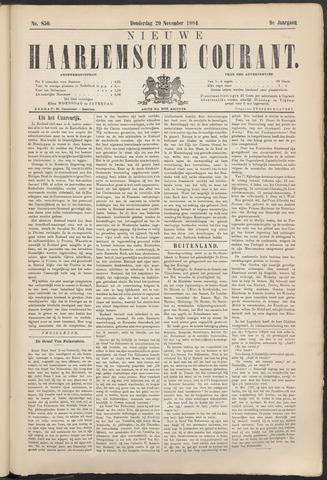Nieuwe Haarlemsche Courant 1884-11-20