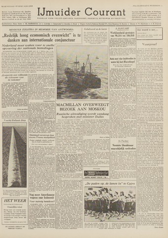 IJmuider Courant 1959-02-04