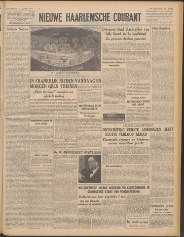 Nieuwe Haarlemsche Courant 1951-03-22