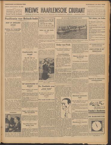 Nieuwe Haarlemsche Courant 1933-07-12