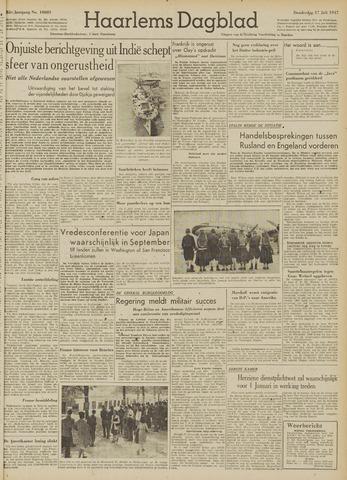 Haarlem's Dagblad 1947-07-17