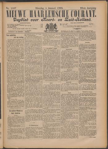 Nieuwe Haarlemsche Courant 1904-01-05