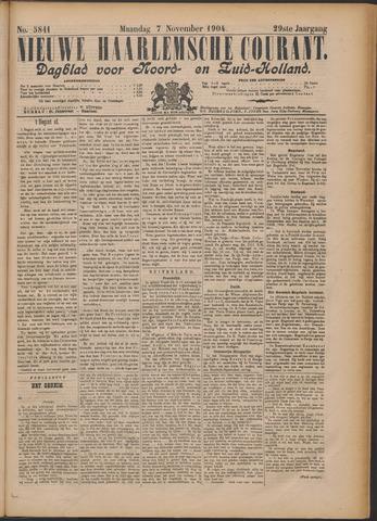 Nieuwe Haarlemsche Courant 1904-11-07