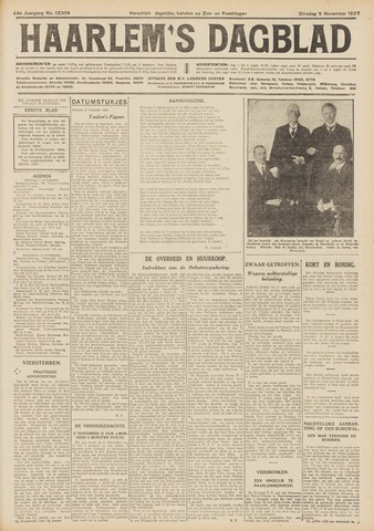 Haarlem's Dagblad 1926-11-09