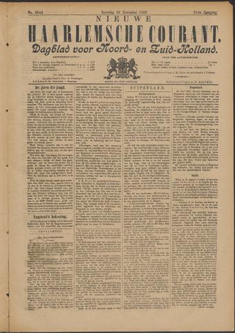Nieuwe Haarlemsche Courant 1896-11-28