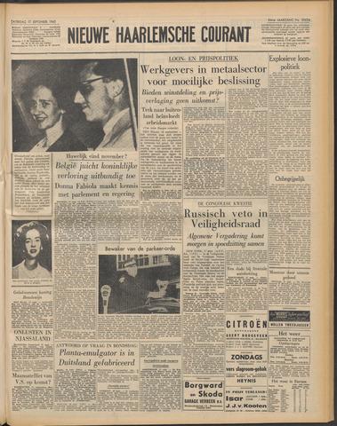 Nieuwe Haarlemsche Courant 1960-09-17