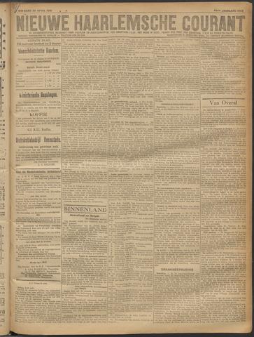 Nieuwe Haarlemsche Courant 1919-04-29