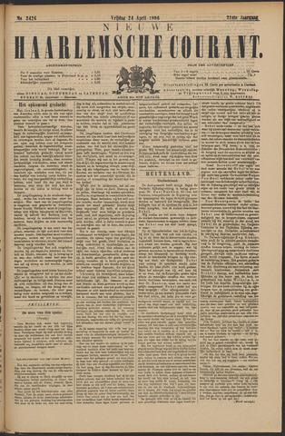 Nieuwe Haarlemsche Courant 1896-04-24
