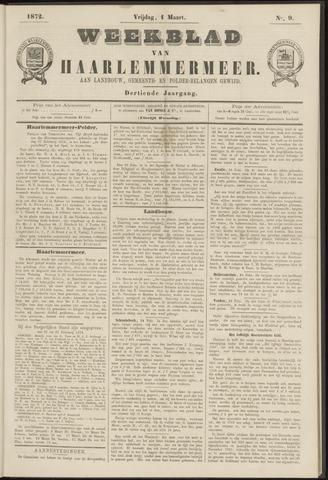 Weekblad van Haarlemmermeer 1872-03-01