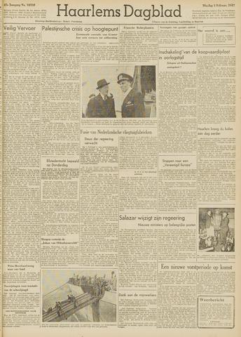 Haarlem's Dagblad 1947-02-04