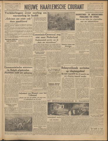 Nieuwe Haarlemsche Courant 1946-11-14
