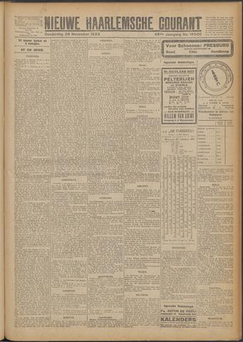 Nieuwe Haarlemsche Courant 1923-11-29