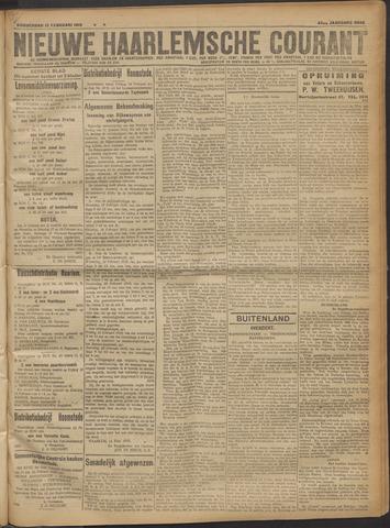 Nieuwe Haarlemsche Courant 1919-02-13