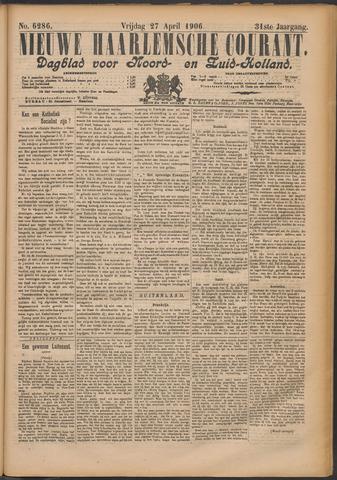 Nieuwe Haarlemsche Courant 1906-04-27