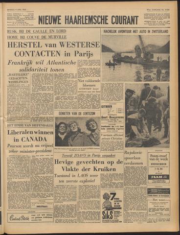 Nieuwe Haarlemsche Courant 1963-04-09