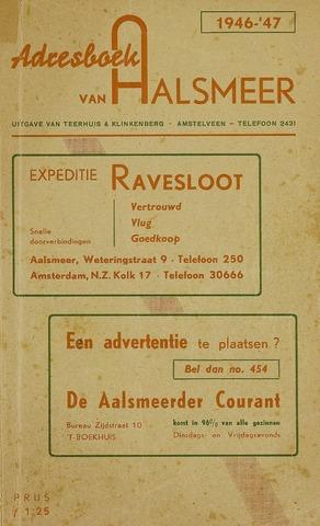 Adresboeken Aalsmeer 1946