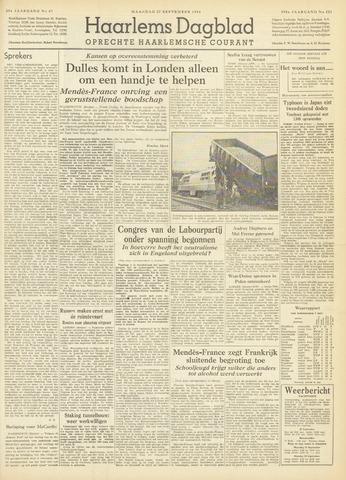 Haarlem's Dagblad 1954-09-27