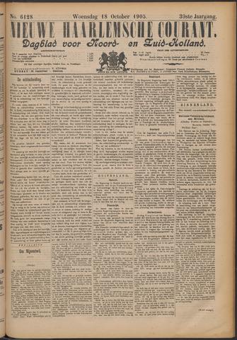 Nieuwe Haarlemsche Courant 1905-10-18
