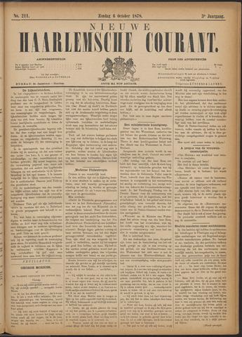 Nieuwe Haarlemsche Courant 1878-10-06