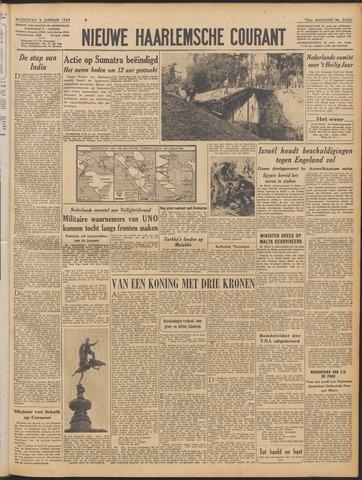 Nieuwe Haarlemsche Courant 1949-01-05